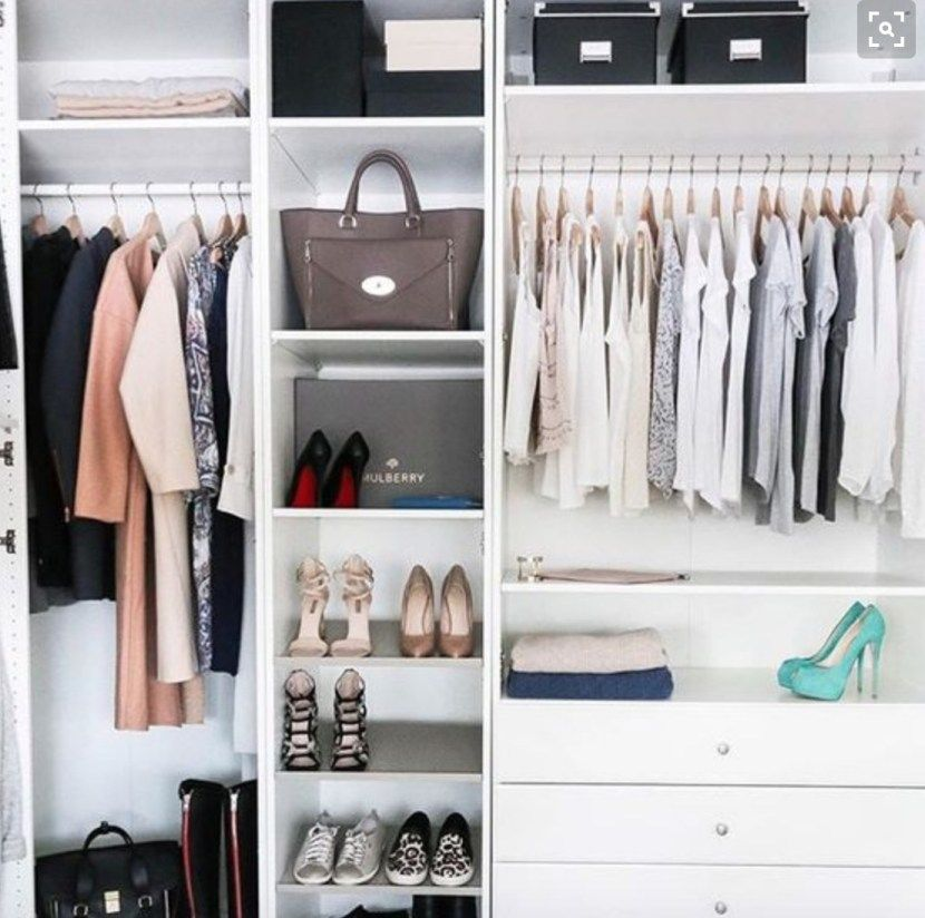 Amazing Organised Closet