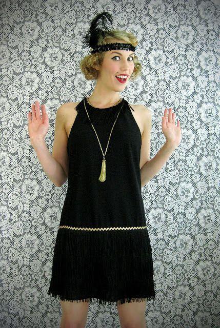 Diy Gatsby Dress Diy Flapper Dress Costume And Gatsby Headband Flapper Dress Costumes Gatsby Dress Diy Flapper Costume Diy