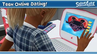 How do you get online dating in sims 3
