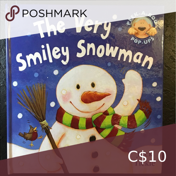 The Very Smiley Snowman Pop Up Board Book