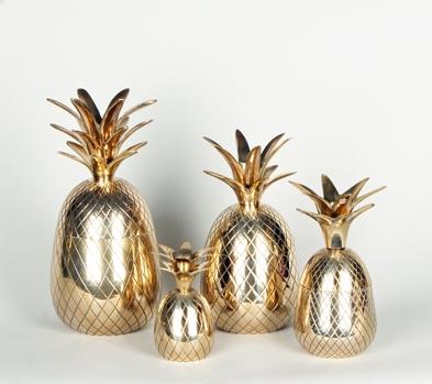 Gold Pineapples Brass Pineapples Gold Pineapple Home Decor Inspiration