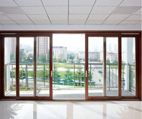 Sliding Glass Doors For Patio And Closet  Modern Double Sliding Patio Doors