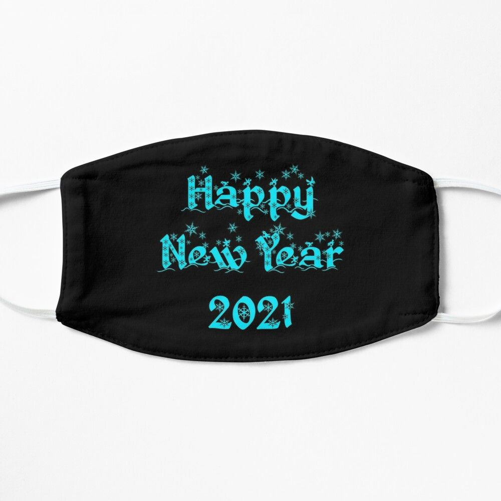 Happy New Year 2021 Mask By Nannadesign In 2020 Happy New Year Happy Holiday Cards Happy New