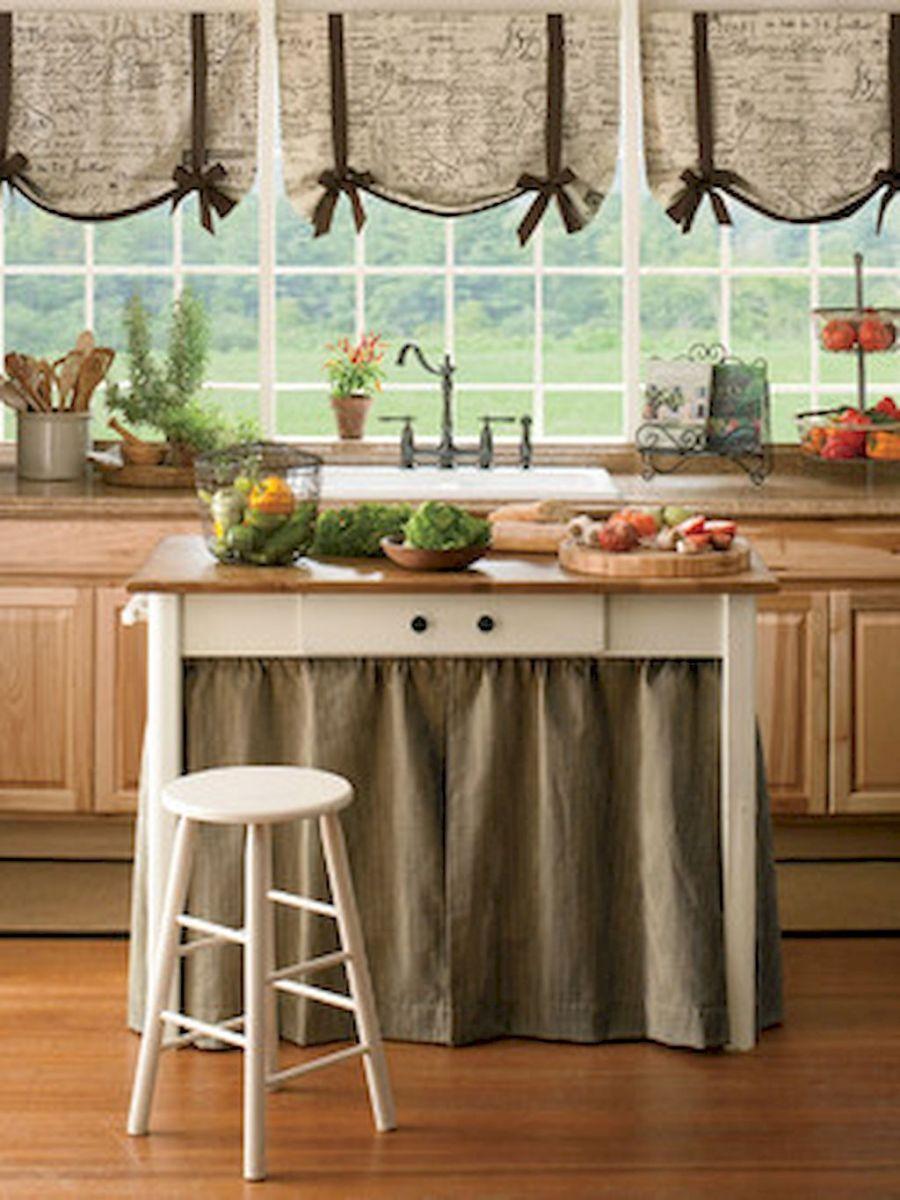 70 pretty farmhouse kitchen curtains decor ideas 42 farmhouse kitchen curtains kitchen on farmhouse kitchen valance ideas id=34688