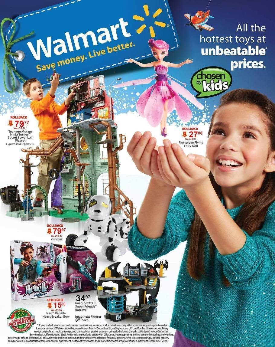 Walmart 2013 Toy Book #walmart #toys #kids #blackfriday #shopping ...