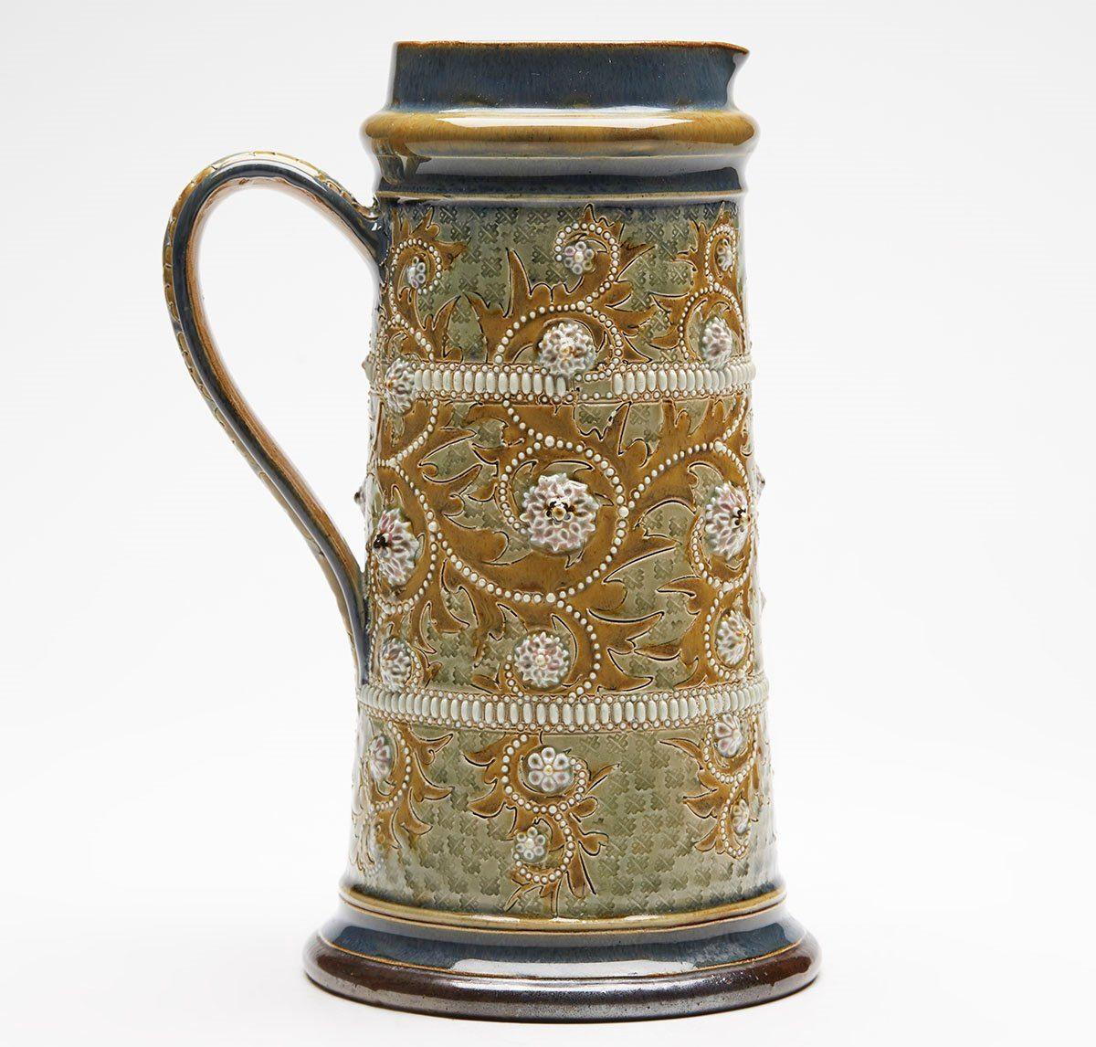 Doulton Lamberth jug by George Tinworth