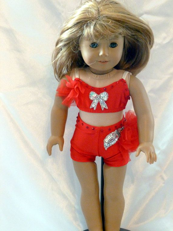 a2058a6d5d3d0 Under my Spell from Dance Moms--Dance Costume for an 18 inch doll ...