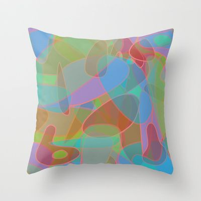 Pastelness!  Throw Pillow  http://society6.com/product/pastelness_pillow#25=193&18=126