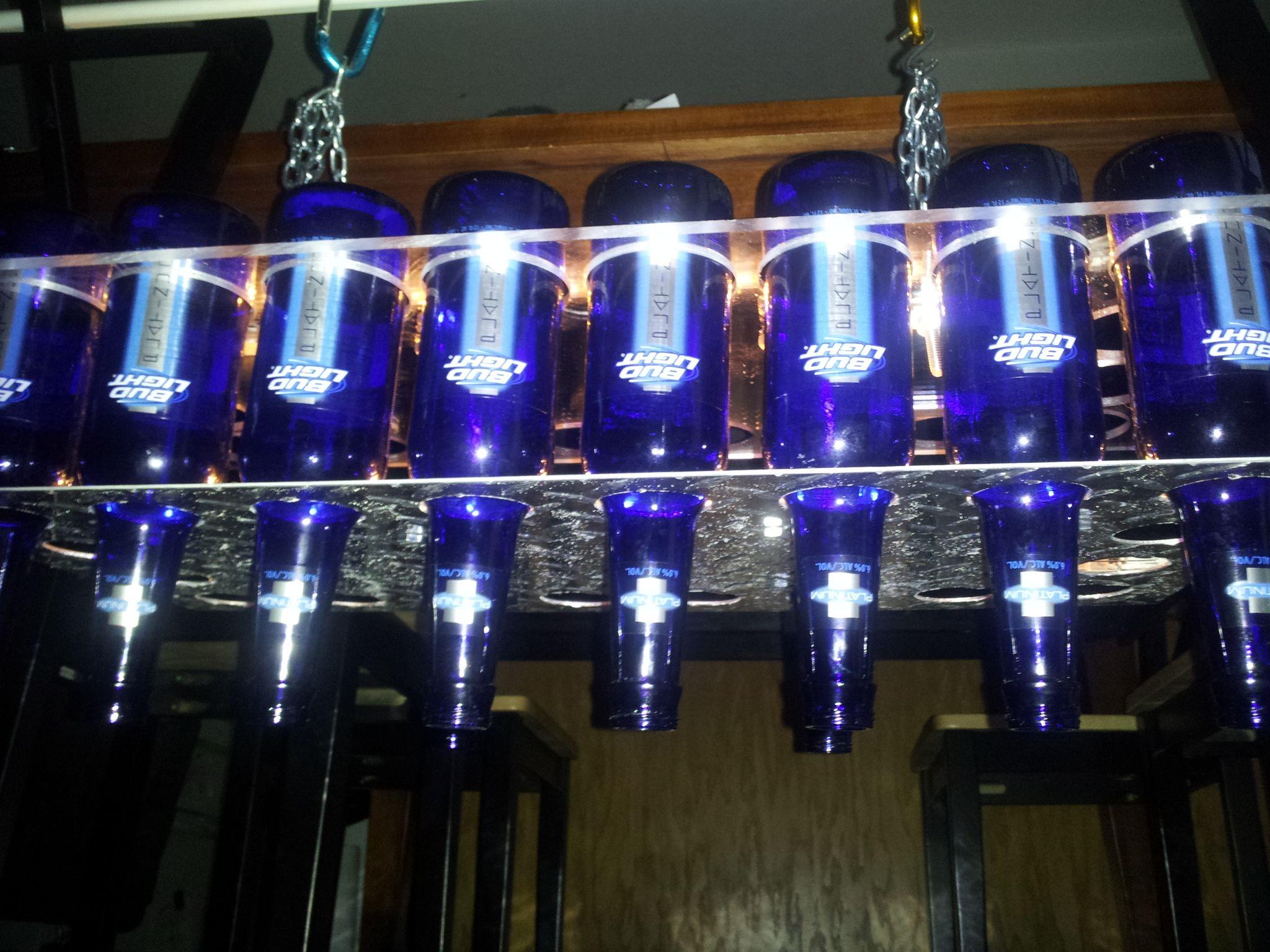 Diy beer bottle chandelier simply because the round one we see on diy beer bottle chandelier simply because the round one we see on pinterest isn aloadofball Gallery
