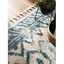Photo of tappeto Benuta Trends a pelo corto Bela beige / blu 190×290 cm – tappeto moderno per soggiorno