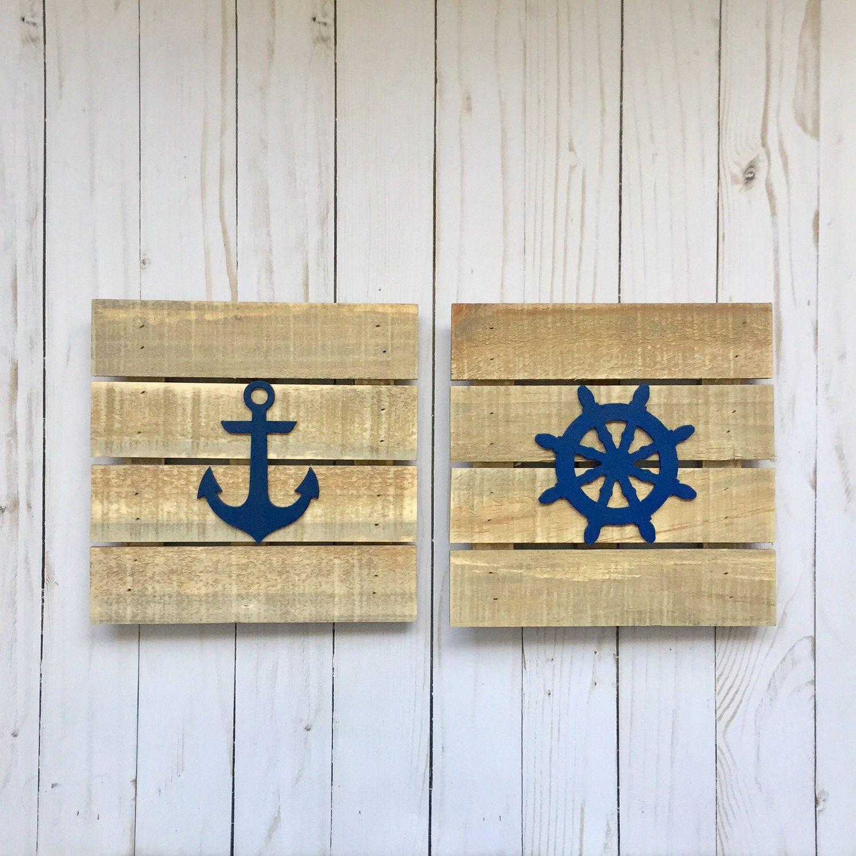 https://www.etsy.com/listing/491672609/rustic-nautical-art-nautical ...