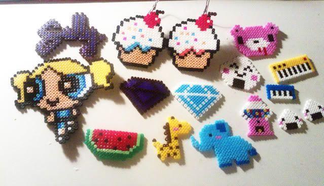 Korean trend: polaroid and Hama mini beads   Hama Mini, Beads and ...