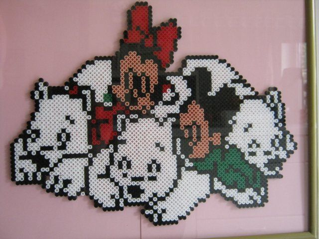 Minnie&Mickey avec les ours