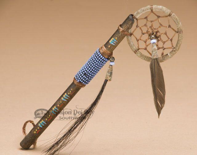 Navajo Indian Spirit Medicine Stick 7.5