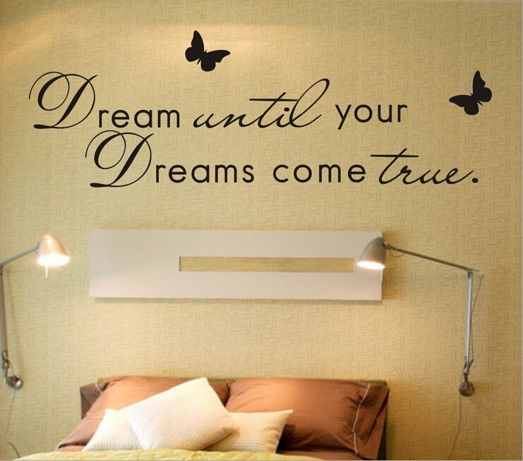 Dream Until Your Dreams Come True... Romantic Warmly Quotes Living ...