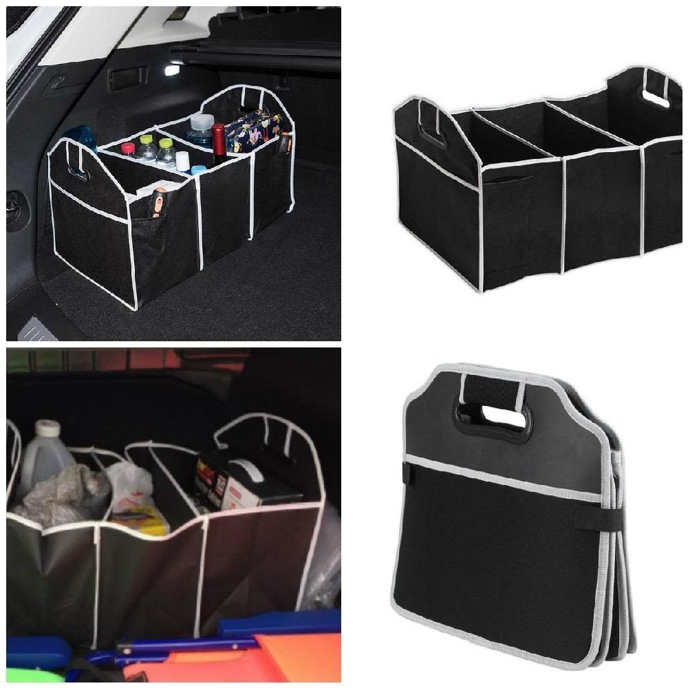 Car Trunk Organizer Storage Container Auto Collapsible Folds Flat