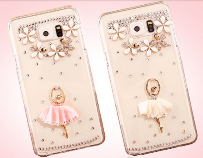 separation shoes d87ef feb18 Girls Samsung Galaxy S8 PLUS Bling Bling Rhinestone Dancing Girl ...