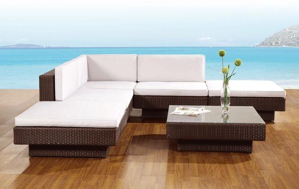 Muebles exterior modernos blancos buscar con google outdoor living pinterest exterior - Muebles chill out baratos ...