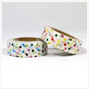 polkadotted masking tape! #polkadots #tape