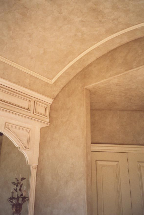 Master Bath Venetian Plaster Walls And Ceiling