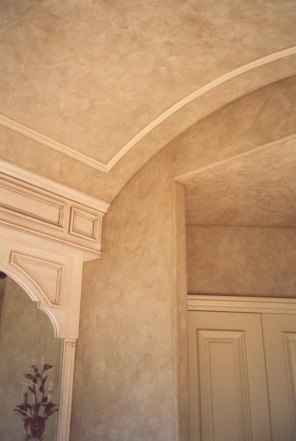 master bath venetian plaster walls and ceiling. Black Bedroom Furniture Sets. Home Design Ideas