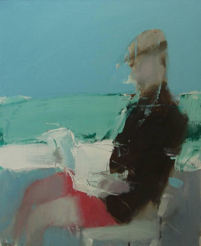 "Saatchi Art Artist HYZHY OLEH; Painting, ""irish sea"" #art #irishsea"