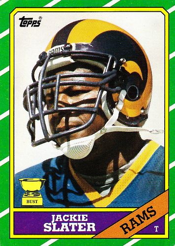 2 Jackie Slater 1986 Topps Football Friday No 126