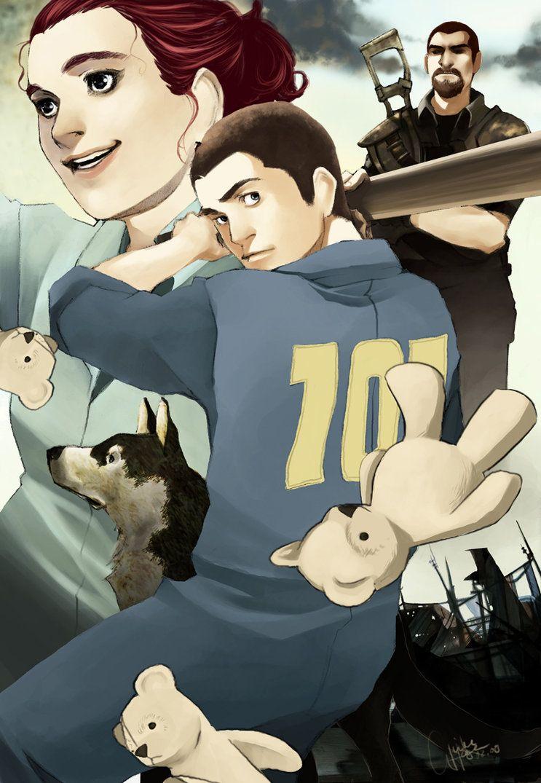 Fallout 3- bash the Teddy