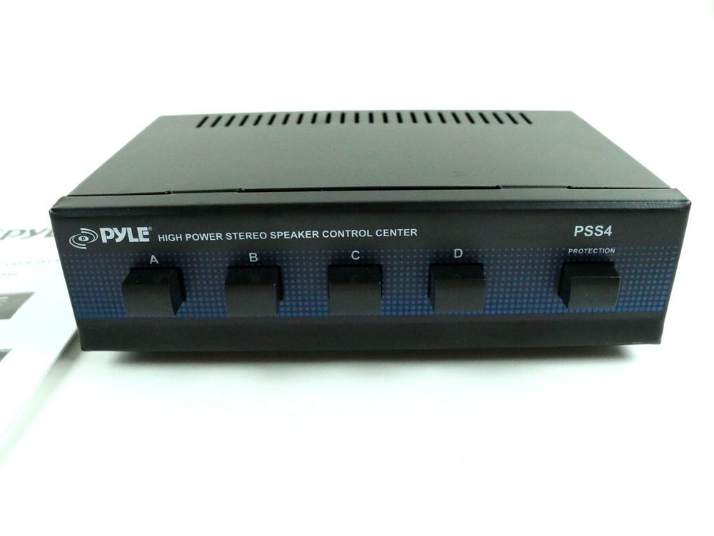 PYLE PSS4 HIGH POWER STEREO SPEAKER SELECTOR