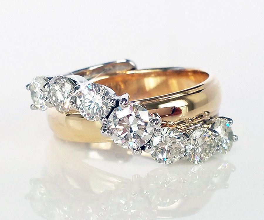 Parents Wedding Rings Redesigned Jewelry Pinterest