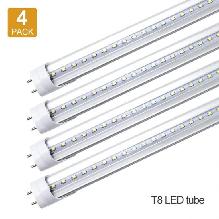 Lightingwill Led Light Tube 1000lumens 10w 4 Pack Led Tube Light Tube Light Led Tubes