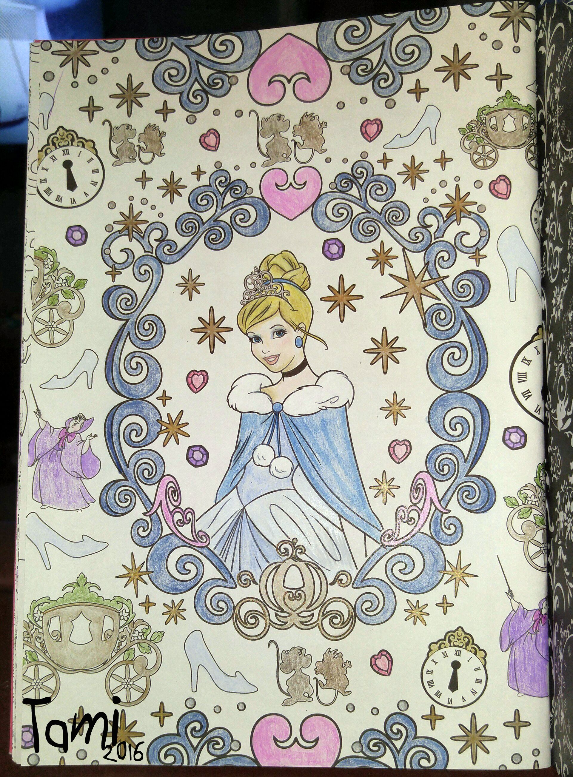 Disney coloring therapy - Done With Prismacolor Pencils From Art Therapy Disney Princesses