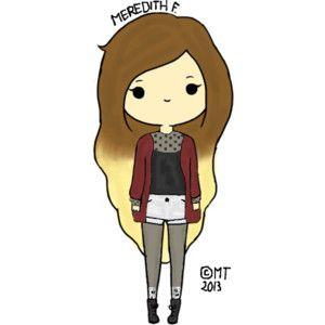 Cute Girl Drawings Pinterest Kawaii Drawings Girl Drawing