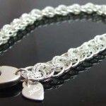 Sterling silver viperbasket bracelet