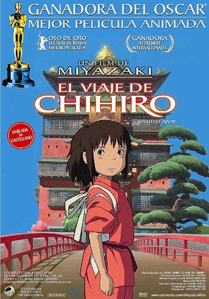 El Viaje De Chihiro Hayao Miyazaki El Viaje De Chihiro Chihiro Pelicula Peliculas De Anime