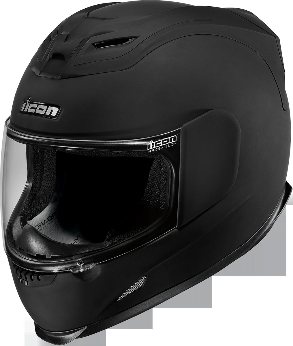 ICON Airframe Rubatone Black Helmet, Cool motorcycle