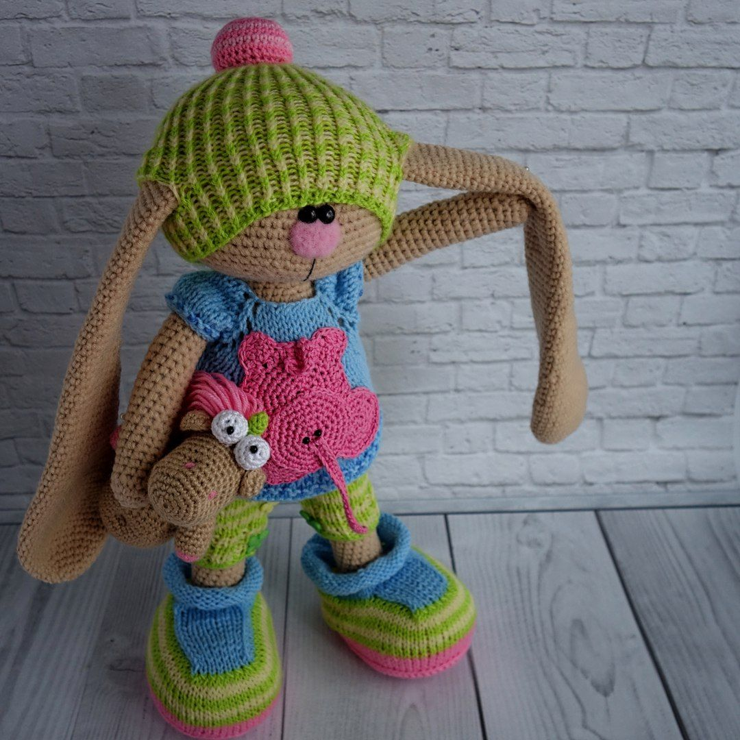 Nice Häkeln Kaninchen Hutmuster Sketch - Decke Stricken Muster ...
