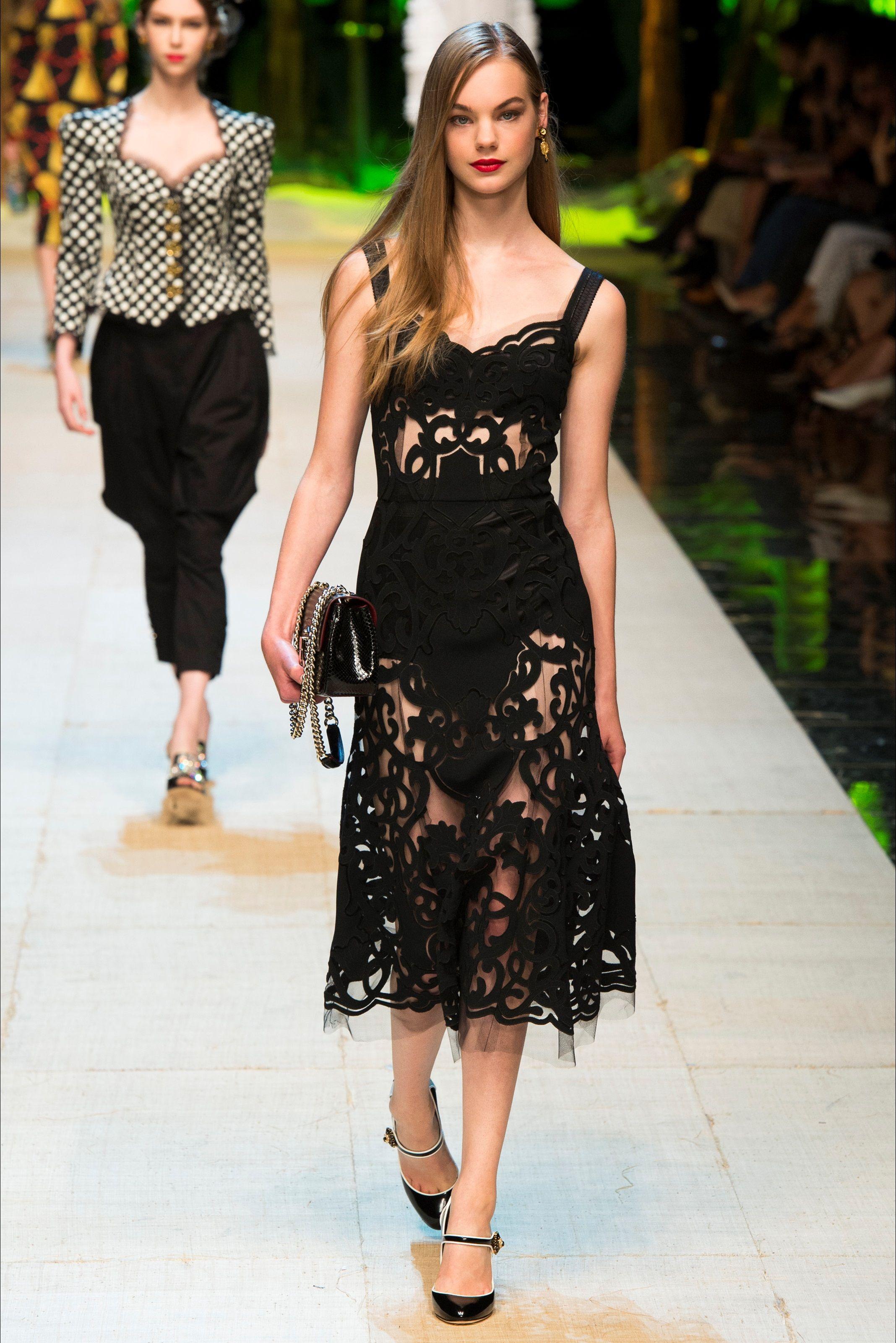 Sfilata dolce gabbana milano collezioni primavera for Design della moda politecnico milano opinioni