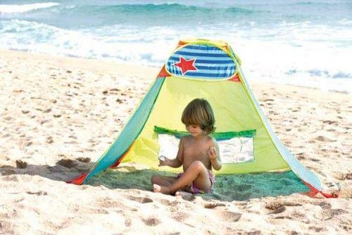 Parasol infantil de playa | Parasol, Playa, Tienda de campaña