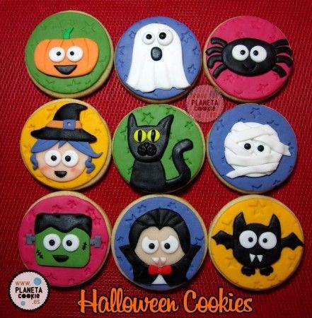 Galletas de Halloween divertidas y terrorficas Cookies