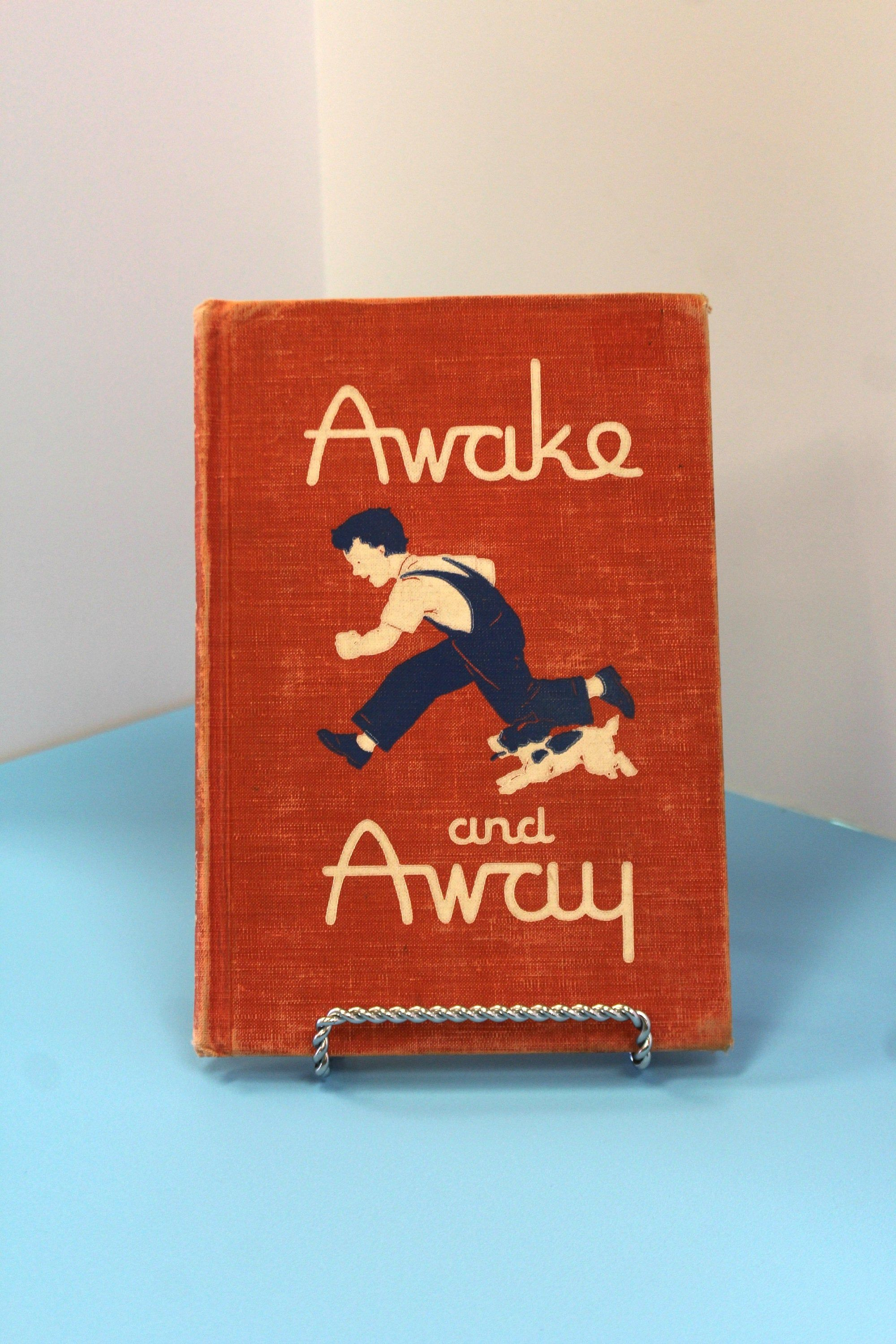 Vintage School Book Awake And Away Primary School Etsy Vintage School Health And Safety Books