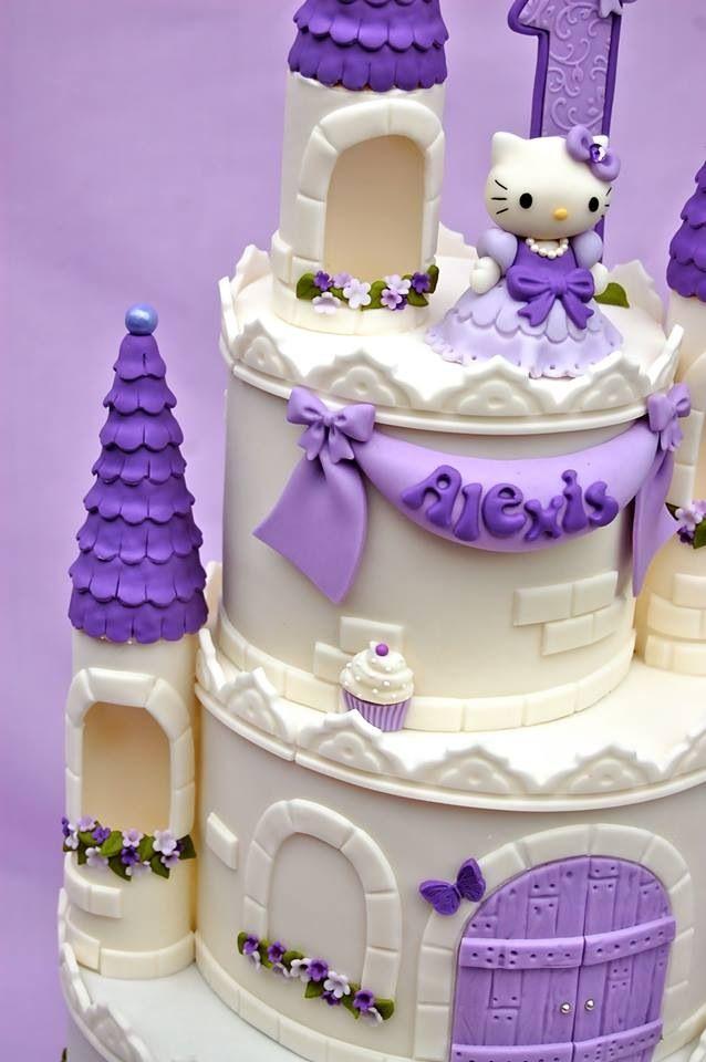 Princess castle | Hello kitty birthday cake, Hello kitty ...