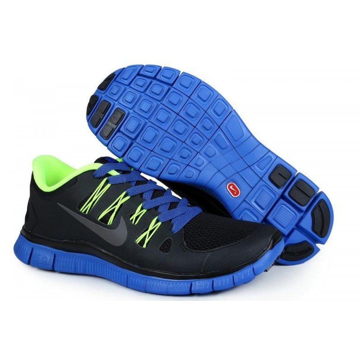 nike free 5.0 v2 Nike Shoes Basketball Nike Free 5.0 V2 Mens Black/Blue | Neon nike ...