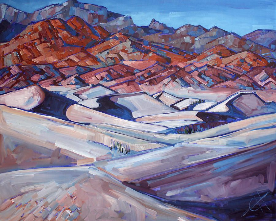 Death Valley Painting