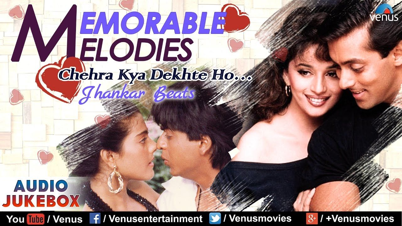 Memorable Melodies Jhankar Beats Chehra Kya Dekhte Ho Bollywood Ev In 2020 Hindi Old Songs How To Memorize Things Songs