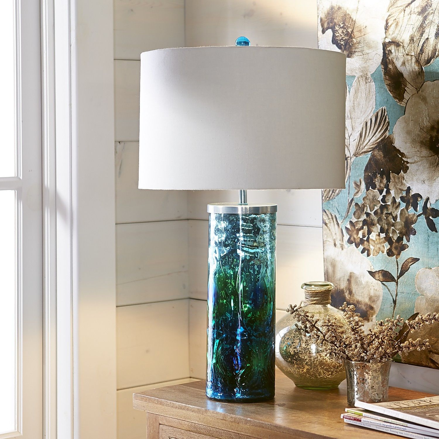Peacock Lamp | Pier 1 Imports