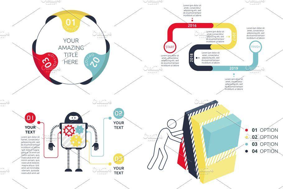 Flexible Infographic Bundle (vol.3) BundleInfographic