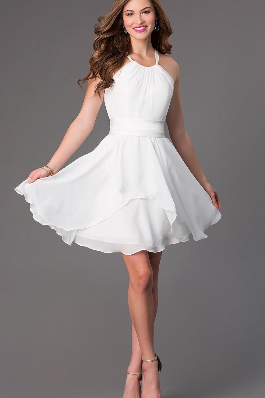 short white cocktail dresses (09)
