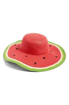 f7ddce51 watermelon hat | Clothing/Accessories/Footwear | Watermelon decor ...