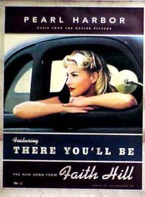 Music Faith Hill There You Ll Be Pearl Harbour Ost Anyone Remember This Song From The Movie Pearl Harbou Faith Hill Tim Mcgraw Faith Hill Tim And Faith